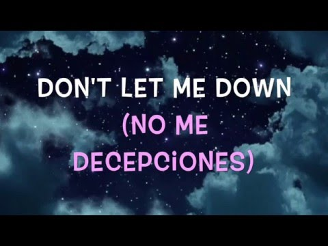 Thumbnail: Don't Let Me Down - The Chainsmokers Sub Español