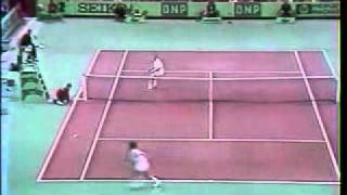 McEnroe attack Michael Chang - Fantastic Point