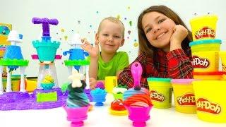 видео Набор Play-Doh (Плей-До) «Бутик для принцесс», Hasbro