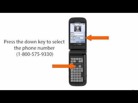 How to set up Press4 on your Samsung SCH-U750 Alias2