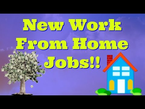 New Work From Home Job Opportunity – Real Work At Home Jobs!!