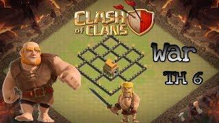 NOVO LAYOUT DE GUERRA |WAR| PARA CV6 -Topp Clash-