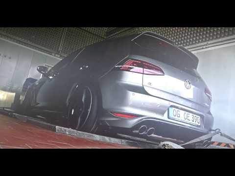 Тюнинг для Volkswagen Golf R от ателье Oettinger