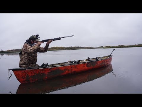 This Canoe Saved Us.. Public Duck Hunting In DEEP MUD!!