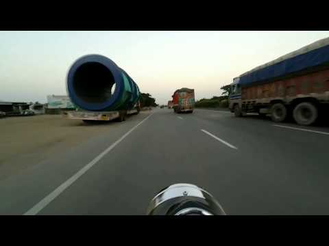 Pure Engine Sound of Royal Enfield Electra | Ride on NH8 | Cruise Mode On