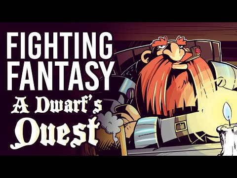 Fighting Fantasy - A Dwarf's Quest (Livestream Best Bits)