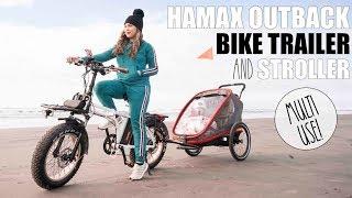 Hamax Bike Trailer + Jogging Stroller + Stroller  - Two Seater!