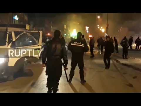 Tunisia: Police disperse protests against price hikes with tear gas