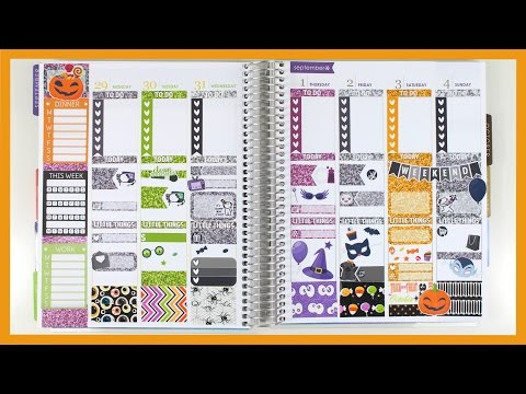 Halloween White Space Spread!! feat. Scribble Prints Co $2 Tuesday