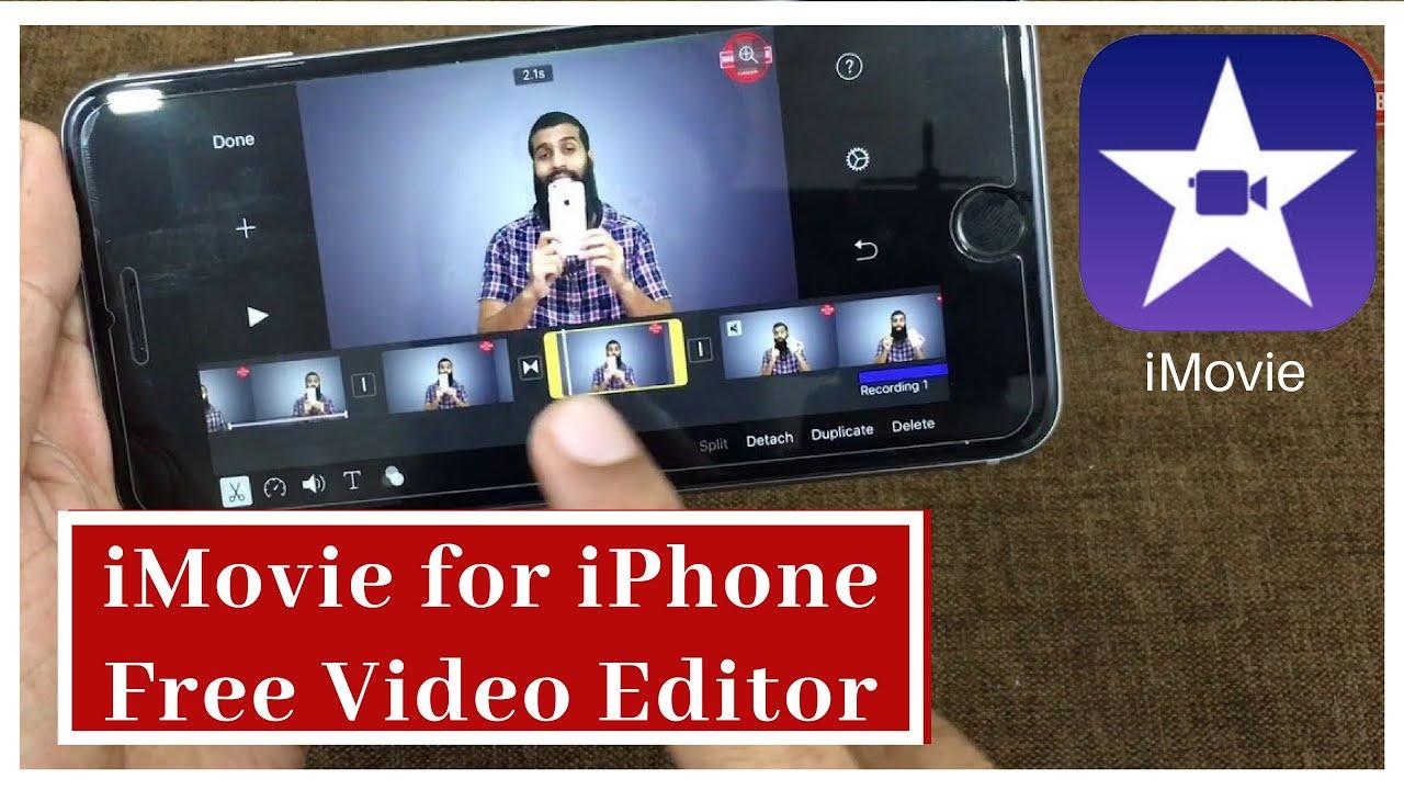 imovie like video editing software
