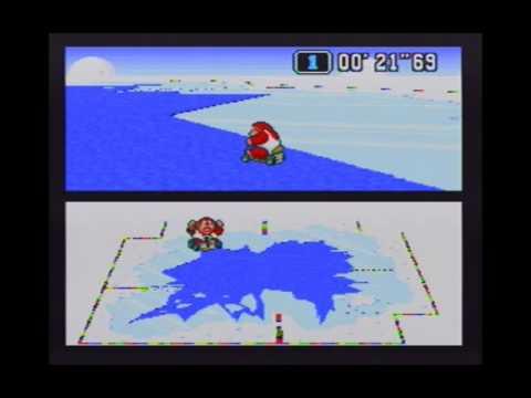 "Super Mario Kart (NTSC) Time Trial : Vanilla Lake 2 (VL2) - 46""21 non-NBT (World Record tie)"