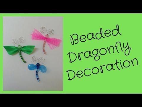 Beaded Dragonfly Decoration DIY