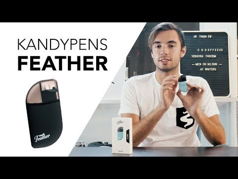 KandyPens Feather – A Handy-Dandy Nic-Salt Vape