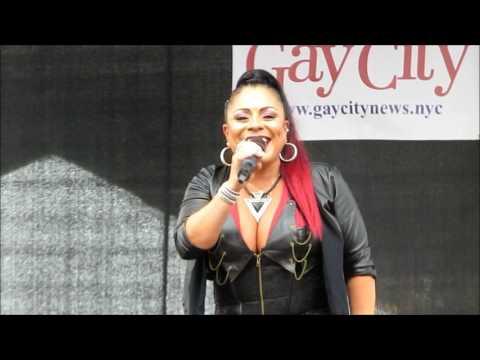 """Lisa Lisa: """"Let The Beat Hit Em"""" - Queens Pride New York 6/4/17"""