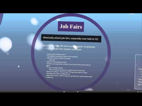 Finding An IT Job and Company Recon