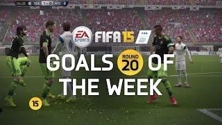 FIFA 15 - Best Goals of the Week - Round 20