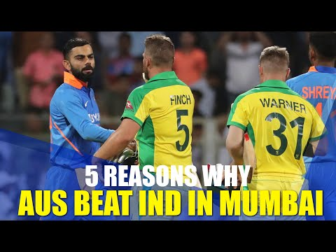 Warner, Finch Shatter Records In Massive Australia Win | India V Australia, 1st ODI Review