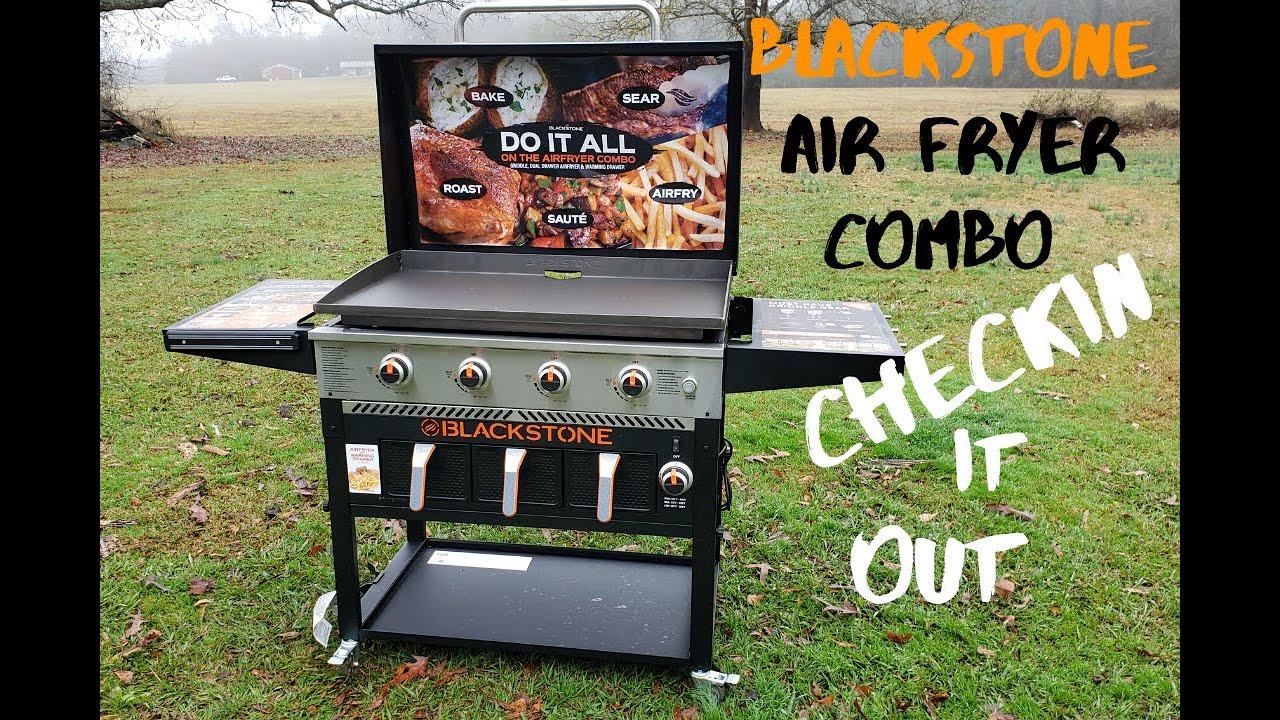 Blackstone Air Fryer Combo Overview Walkaround Youtube