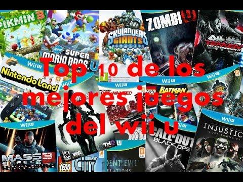 Top 10 De Los Mejores Juegos Del Wii U 2014 2015 Loquendo Youtube
