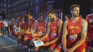 Presentación Equipación Selección Española