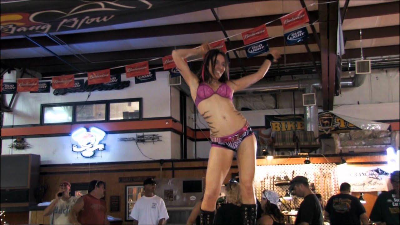 Girl on Bar Dancing  YouTube