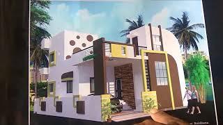 33 x50 HOUSE PLAN EXPLAIN ON CONSTRUCTION SITE