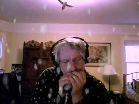 White Christmas Harmonica