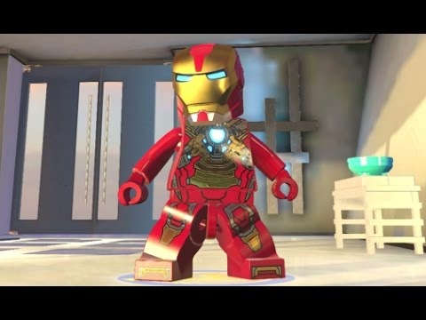 LEGO Marvelu0027s Avengers   Iron Man (Mark 17   Heartbreaker) Unlock + Free  Roam (Character Showcase)   YouTube