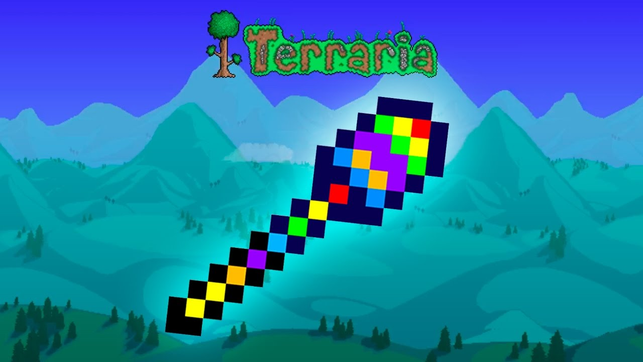 terraria how to get the rainbow rod