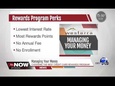 Choosing a Credit Card Reward Program