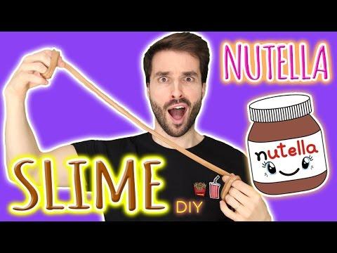 DIY SLIME NUTELLA COMESTIBLE