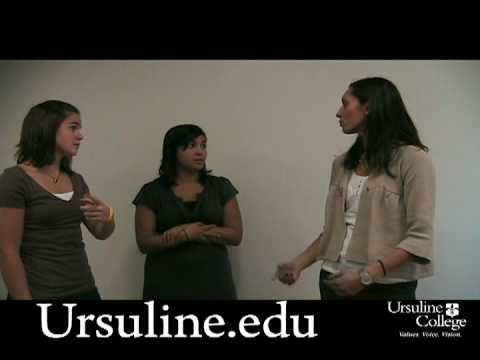 Ursuline College 3 Friends