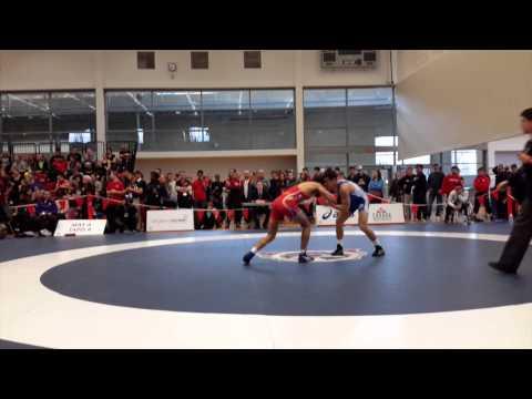 2015 Senior National Championships: 57 kg Safiulla Sharar vs. Steven Takahashi