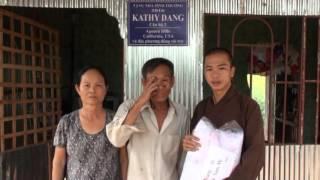 Trao nhà tình thương cho người nghèo, tài trợ bởi nhóm Khang Ngo