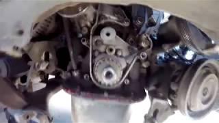Как выставить метки ремня ГРМ на Тойота Левин 4 age/ЧАСТЬ 2