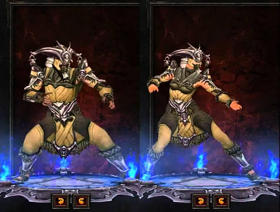 Diablo 3 - Monk Armor Sets Preview