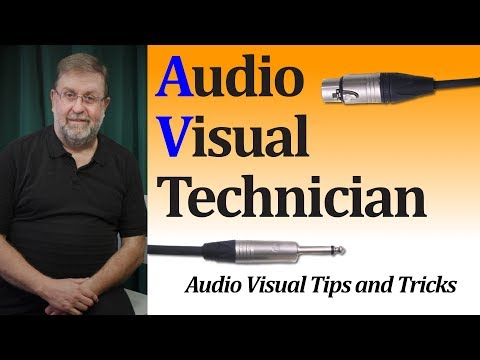 What is an AV Technician