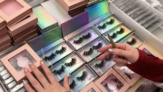 Custom Eyelash Packaging Box Wholesale Vendors Empty Eyelash Packaging Box Diy Design Ideas