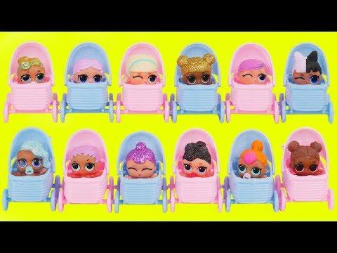 LOL Surprise! Dolls Lil Luxe Big Sisters DIY Custom Series 3 Bon Bon Babysit Shopkins Bus Driver!