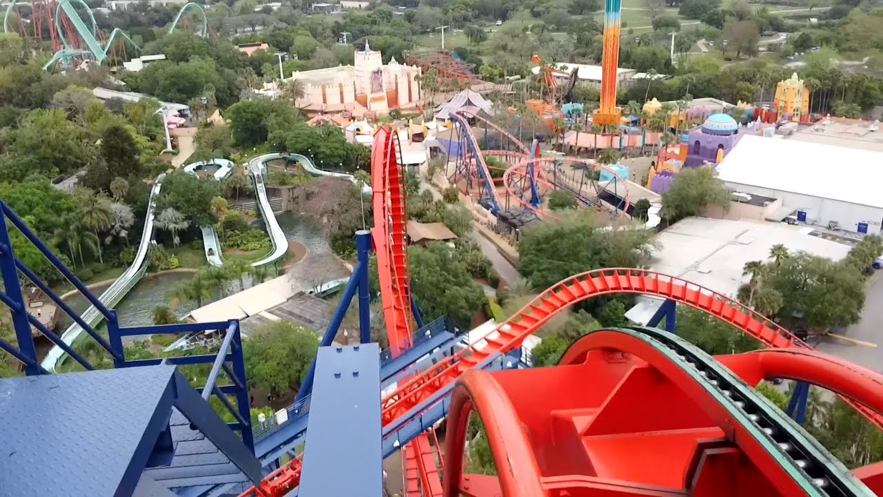 Sheikra front seat pov 2015 full hd busch gardens tampa How far is busch gardens from orlando