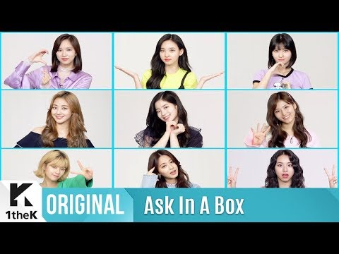 ASK IN A BOX(   ): TWICE() _ What is Love?