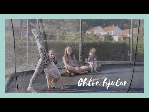 Chloe hjular i studmattan & R bygger Unicorn Tält 🦄