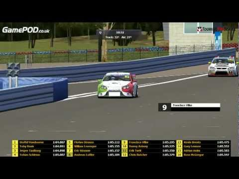 rFactor V8 Supercars: Touring Pro Series: VV8S 2012: R4 Hidden Valley - Live Replay