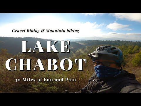 30 mile Ride | Gravel Biking and Mountain Biking Lake Chabot