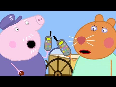 Свинка Пеппа на русском все серии подряд | Доктор Хомяк спасает всех! | Мультики