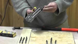 Обзор кабельного степлера Arrow T59 / Overview Arrow T59 cable stapler