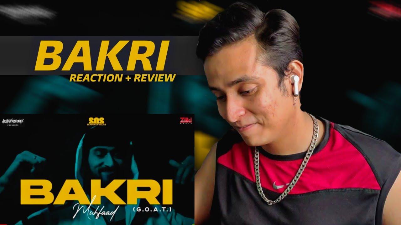 MUHFAAD BAKRI REACTION | MUHFAAD DISS TRACK FOR RAFTAAR, KR$NA & RAGA ?