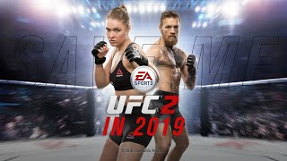 EA Sports UFC 2 - It's awful, but the ragdoll is fun