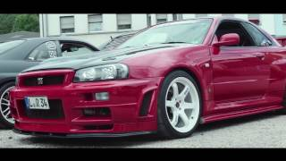 Nissan Skyline R34 GTR - RingMoments by Philip Schott