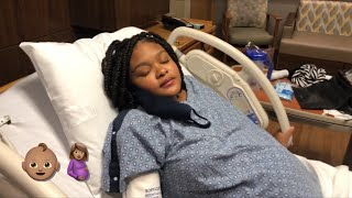 DEJA LEE LABOR AND DELIVERY VLOG!!!**HE'S FINALLY COMING**